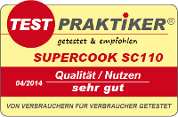 testmarke supercook sc110