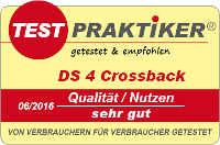 testmarke ds4 crossback