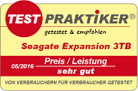 testmarke seagate expansion