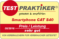 testmarke smarphone cat s40